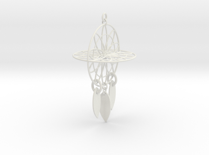 Dream Catcher Intento mil 3d printed