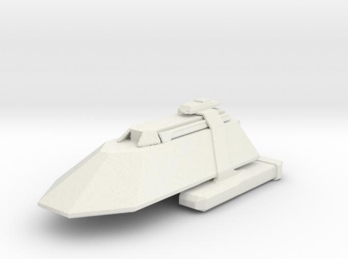 Gorn Cruiser 3d printed