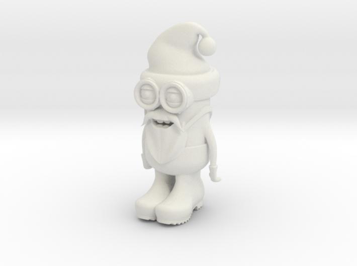 Santa Minion 3d printed