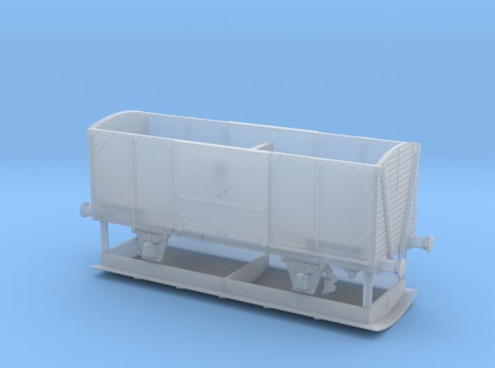 N USATC-Boxcar, späterer G 09 der DB 3d printed