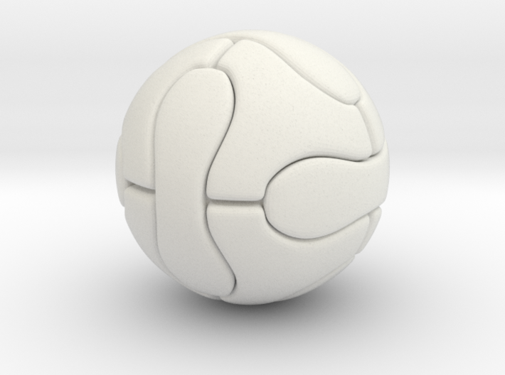 Foosball Soccer Ball (simple version) 3d printed