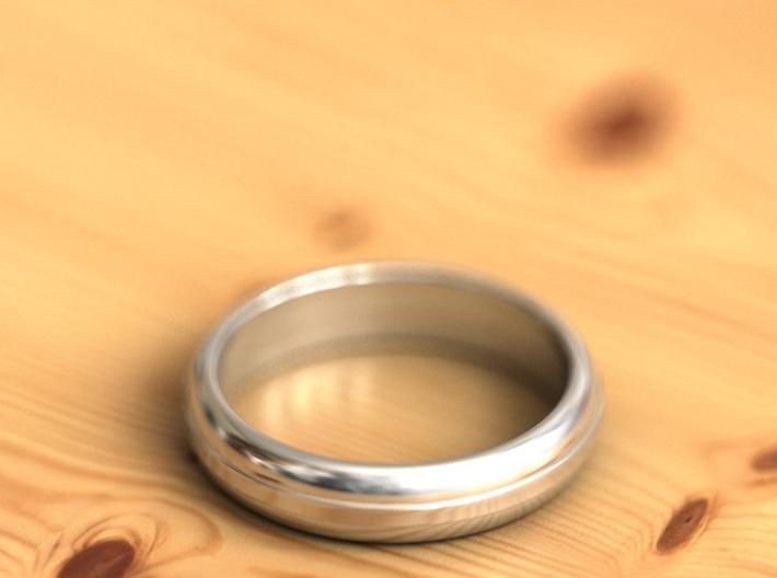 Geom ring 3d printed