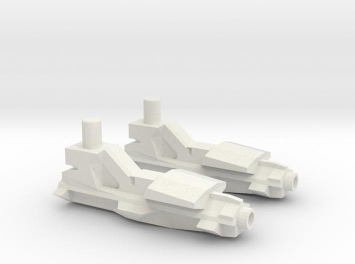 Transformers Generations Jet Ripper Guns 3d printed
