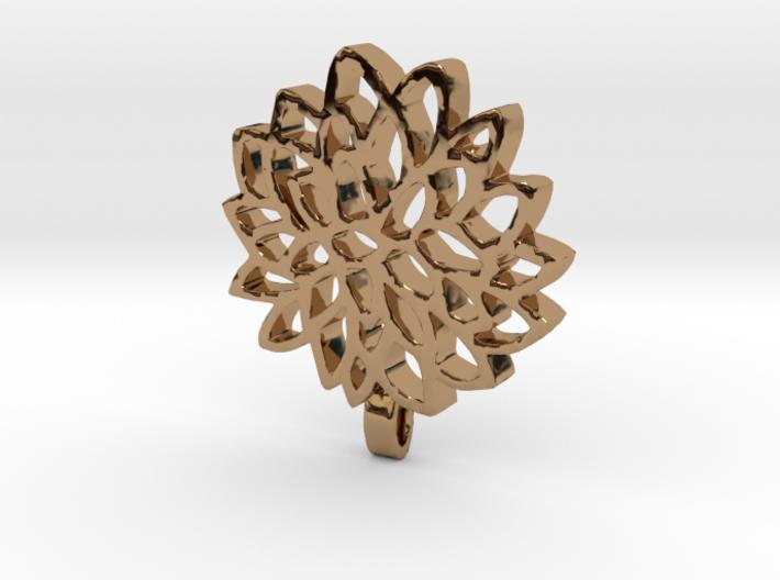 Carnation Pendant 3d printed