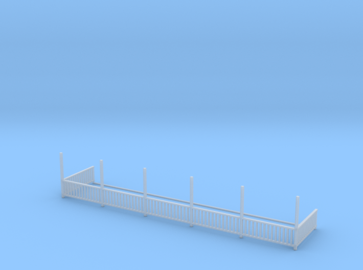 Bagby Hotel Balcony Railing 3d printed