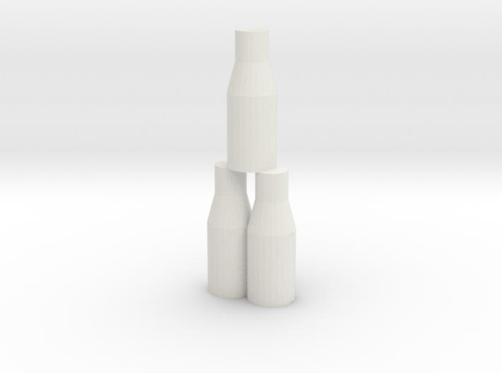 Bottle Tip Game 3d printed