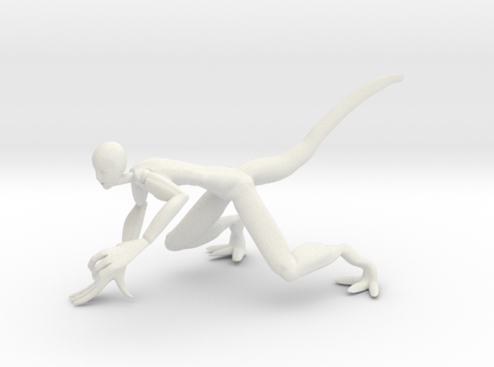 Lizy Pose 2 3d printed
