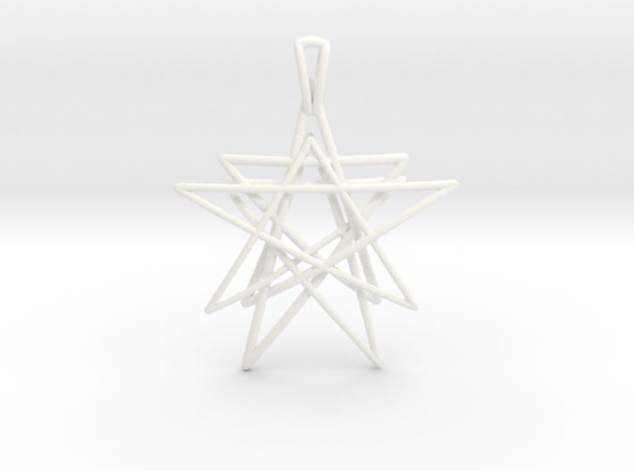 Reach for the Stars Pendant 3d printed