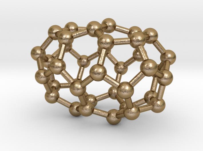 0083 Fullerene c38-2 d3h 3d printed