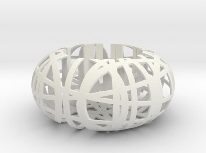 'Tangle' Tealight Holder 3d printed
