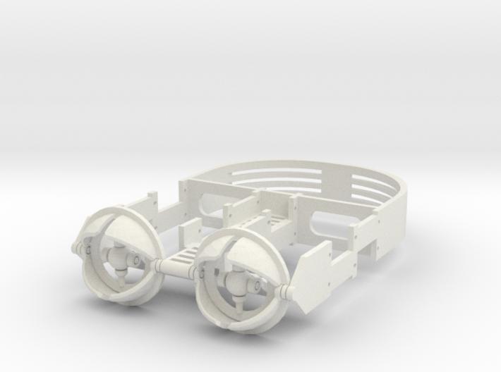 36mm Mechanical eye assembly. 3d printed