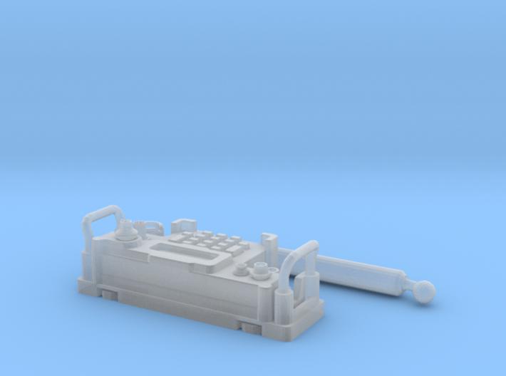 PRC-117G Face FUD 1/6 3d printed