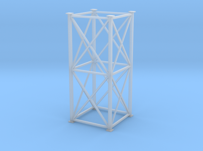 """'HO Scale"""" - 8'x8'x20' Tower 3d printed"""