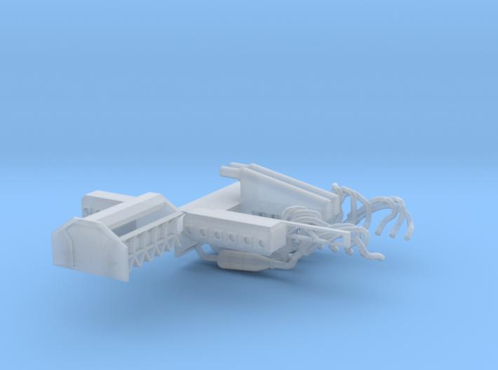 Mclaren F1 Engine V2.1 for Fujimi Scale 1/24 Kit 3d printed