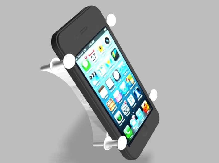 X Bracket Universal Smartphone Holder 3d printed