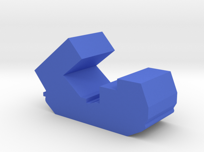 Game Piece, Blue Force Mlrs Artillery 3d printed