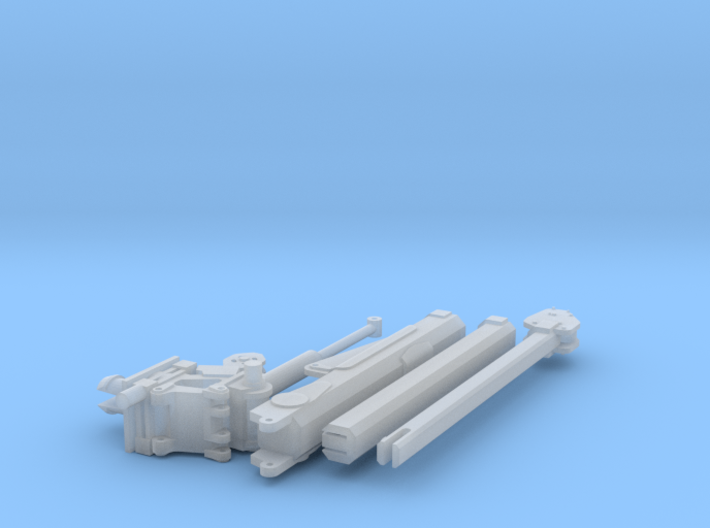1/64 Crane for Service Bed (Large ) (S Scale) 3d printed