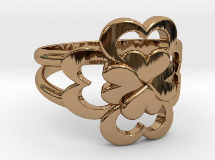 Size 6 Wife Ring 3d printed