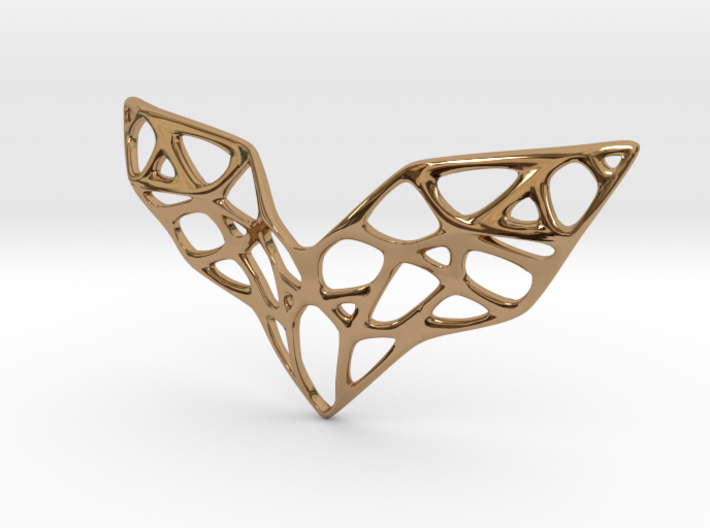 Goldmine Necklace 3d printed