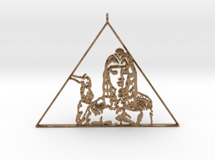 Katy Perry Pendant (Dark Horse) 3D Jewellery 3d printed
