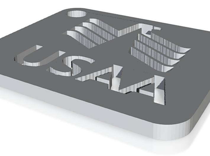 USAA-keychain-1 3d printed