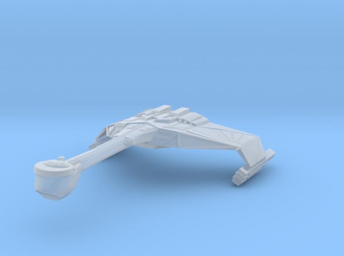 Illusive Light Cruiser 1/7000 3d printed
