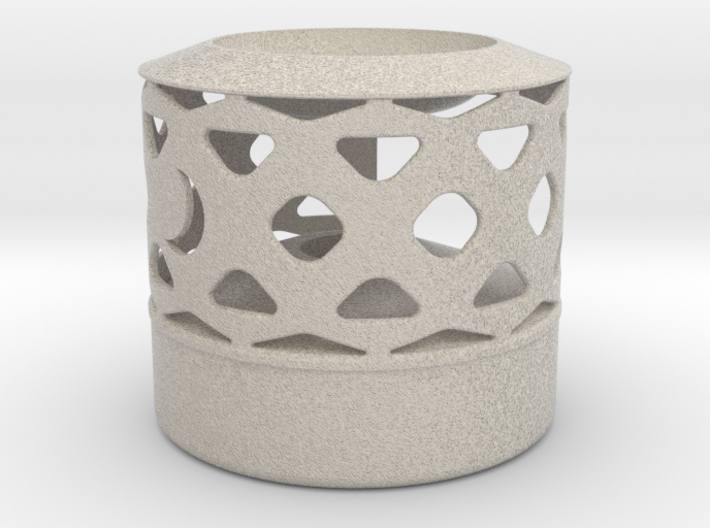 Oil Lamp - Wax Melter 3d printed