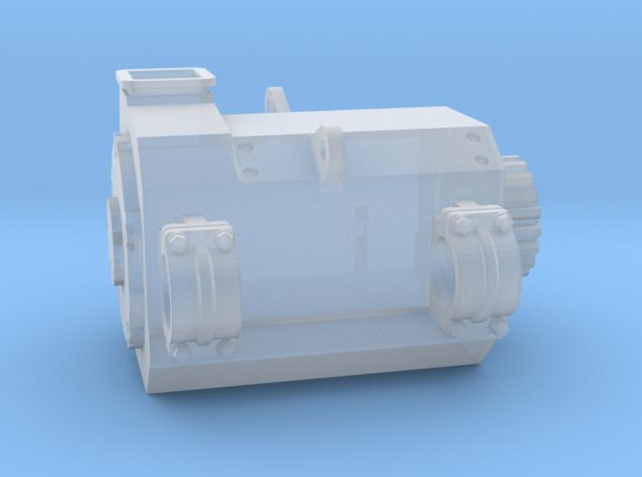 4mm Brush TM73-62 Traction Motor 3d printed