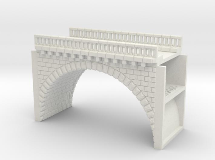 NV1M1 Modular viaduct 1 track 3d printed
