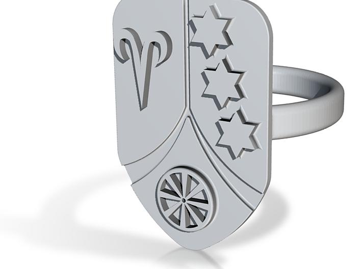 Nina´s Ring 3d printed