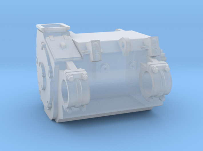 4mm Brush TM64-68 1A Traction Motor 3d printed