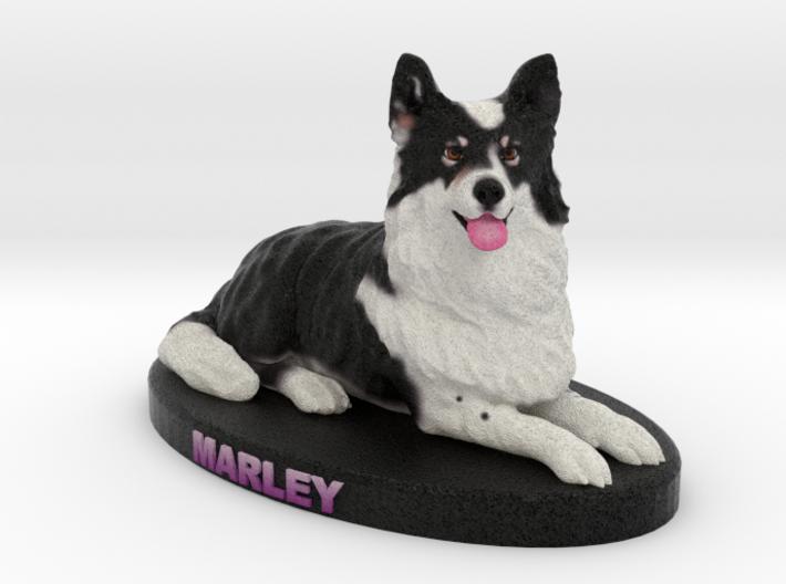 Custom Dog Figurine - Marley 3d printed