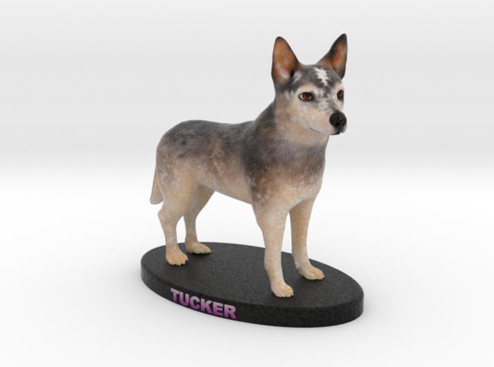 Custom Dog Figurine - Tucker 3d printed