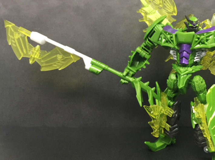 TF4: AOE Warrior Of Growl (pole) for deluxe Snarl 3d printed