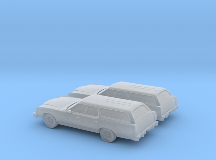 1/160 2X 1977 Ford Country Squire 3d printed