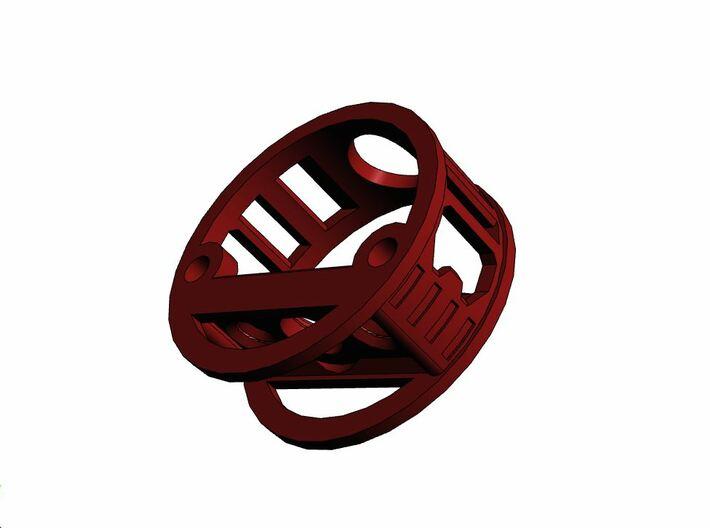 GCM113-04-01 - R.I.C.E.™ Port Style1 holder 3d printed