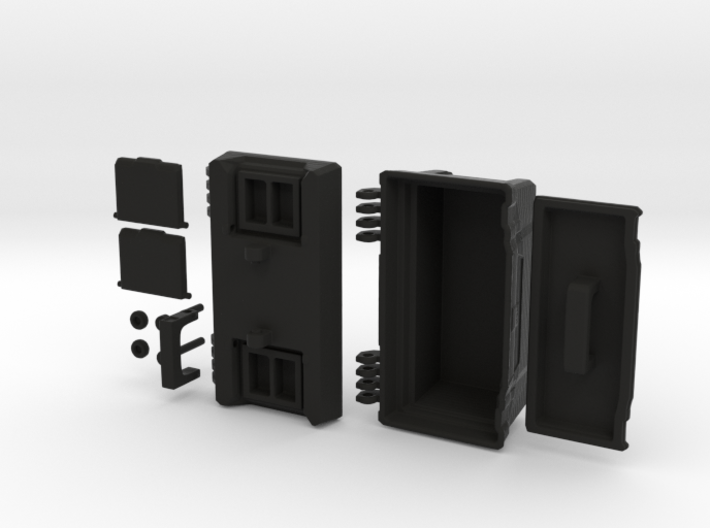 Toolbox 1:12 - by Pepper (MitchymooMiniatures) 3d printed