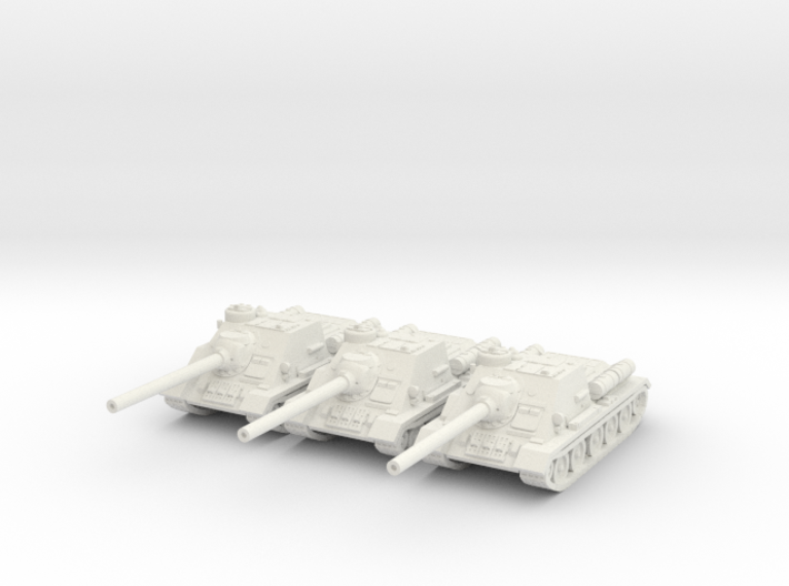 1/144 SU-100 tank hunter 3d printed