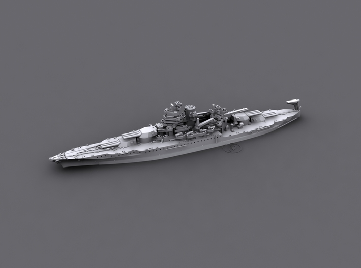 1/1800 US BB40 New Mexico [1942] 3d printed Computer software render