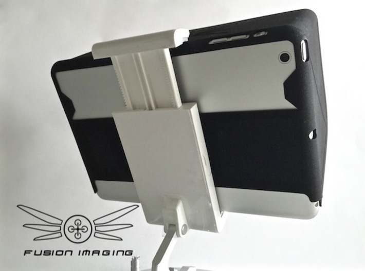 iPad Mini SE Visor / FPV Deep Hood - Easy Glide 3d printed iPad Mini Visor/FPV Deep Hood Inspire - Easy Glide