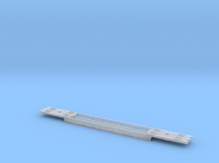 RailJet Wagenboden v1 TT 1:120 3d printed