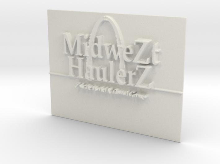MZHZ Nametag 3d printed
