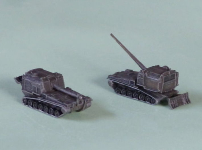 M53 155mm / M55 203mm Howitzer 1/220 3d printed 1/285 Models