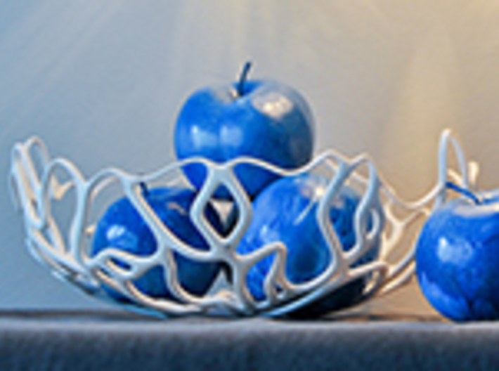 Seaweed Bowl / Fruit Bowl 3d printed bowl / get bli
