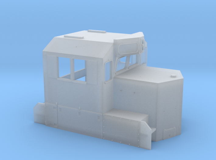 NS GP33ECO Cab N Scale 3d printed