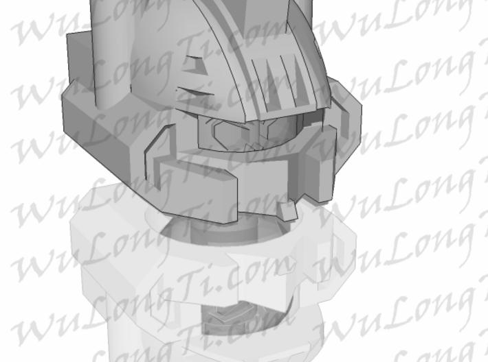 Kreon Combiner - Combat Helmet 3d printed skull head not included