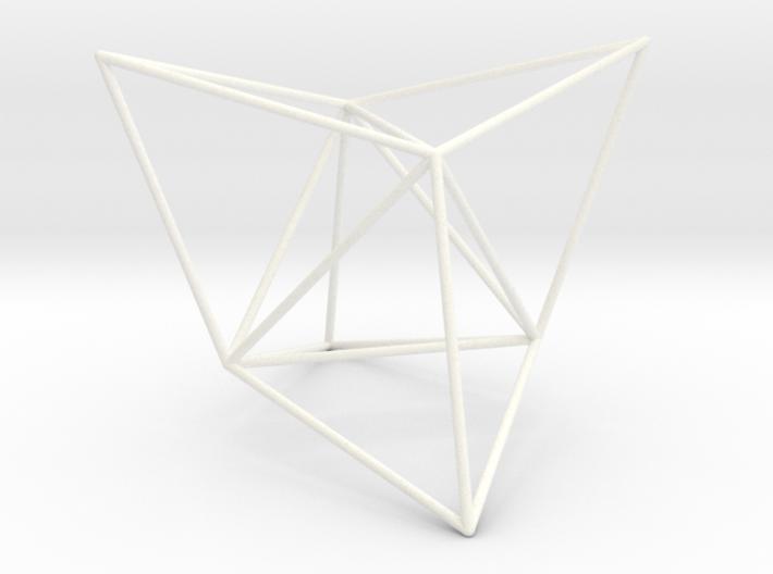 Tetracedron Elevatus Vacuus 3d printed