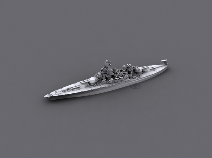 1/1800 US BB46 Maryland [1944] 3d printed Computer software render