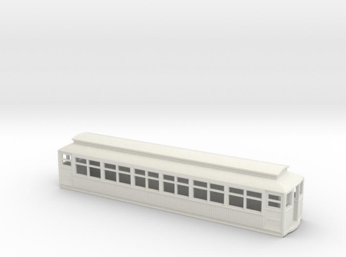 CTA/CRT 2800/2900 Series Wood Rapd Transit Car 3d printed