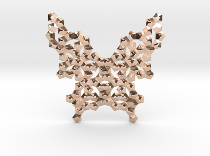 3D Butterfly Pendant No.1 3d printed